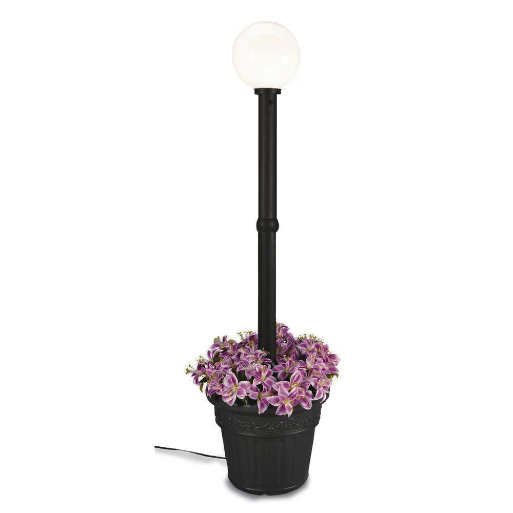 Patio Living Concepts Milano Single White Globe plug-in B...