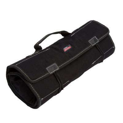 23-Compartment Large Tool / Wrench Roll, Black
