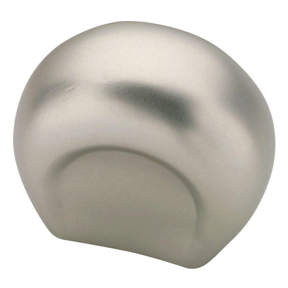 Liberty 1 in. Brushed Satin Nickel Ultra Mod Shape Cabinet Knob