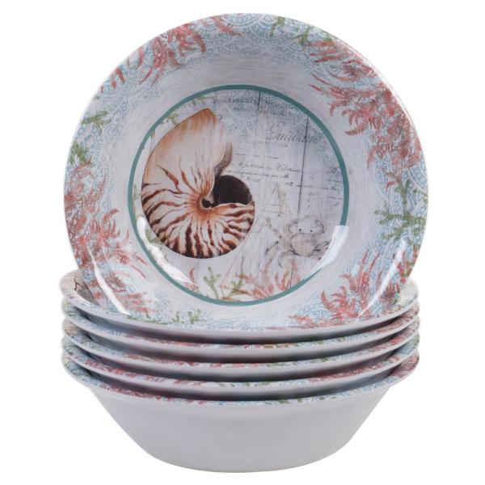 Certified International Sanibel Multicolor All Purpose Bowl (Set of 6) 24032SET6
