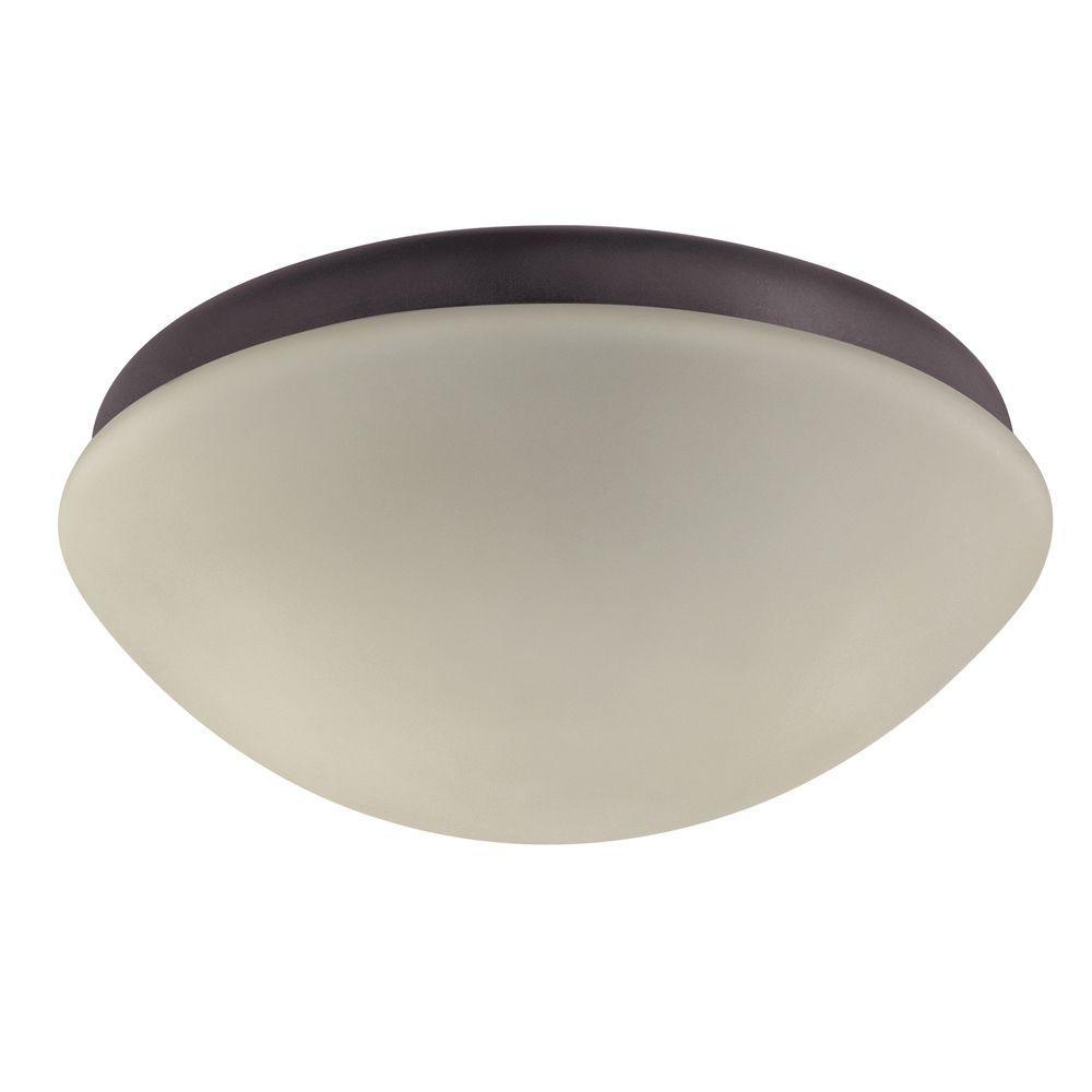 Hunter 2-Light New Bronze Globe Ceiling Fan Light Kit