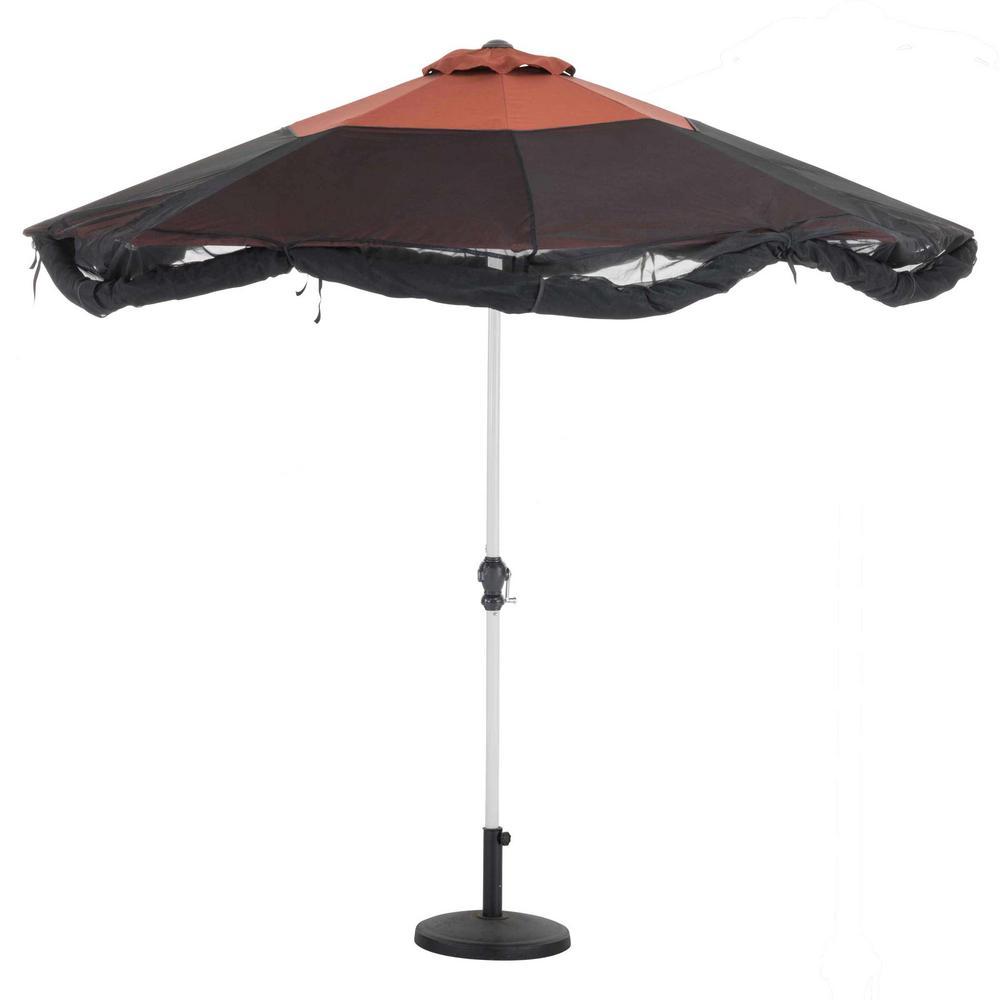 Patio Umbrella Insect Net Canopy