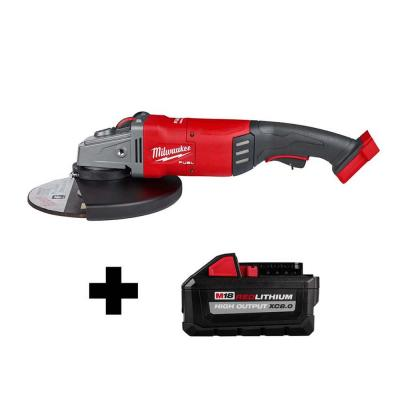 M18 FUEL 18-Volt Lithium-Ion Brushless Cordless 7/9 in. Angle Grinder W/ HIGH OUTPUT XC 8.0Ah Battery