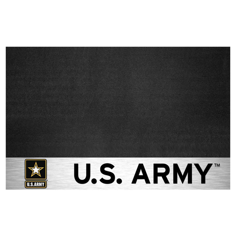 Fanmats Mil U S Army 42 In X 26 In Vinyl Grill Mat