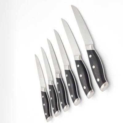 6-Piece Ultimate Steak Knife Set with Premium Quality