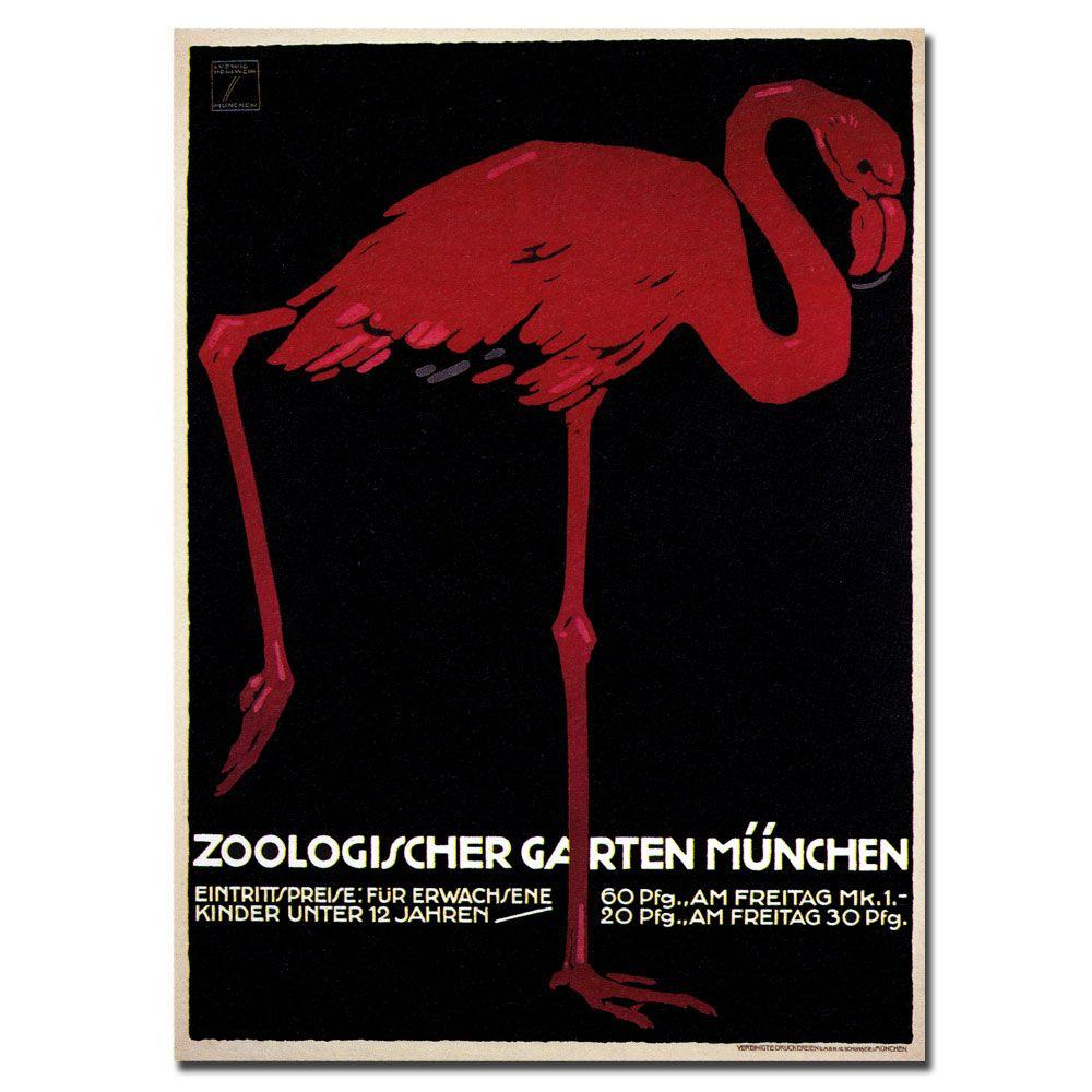 Trademark Fine Art 18 in. x 24 in. Zoologischer Garten Canvas Art