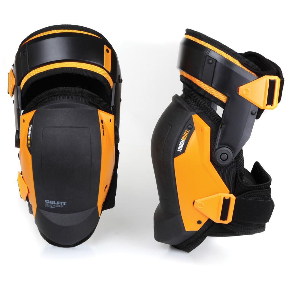 GELFIT Black Thigh Support Stabilization Knee Pads