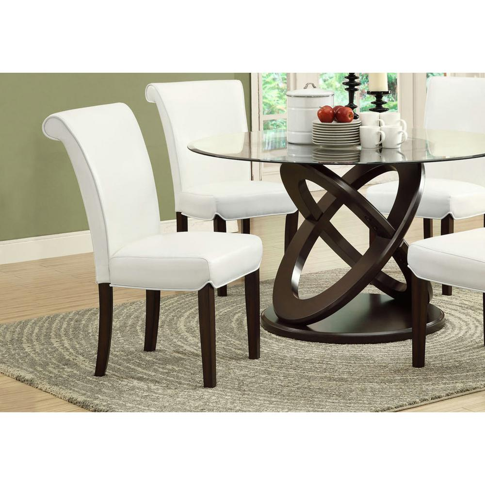 Monarch Specialties Light Taupe Dining Chair (Set Of 2)