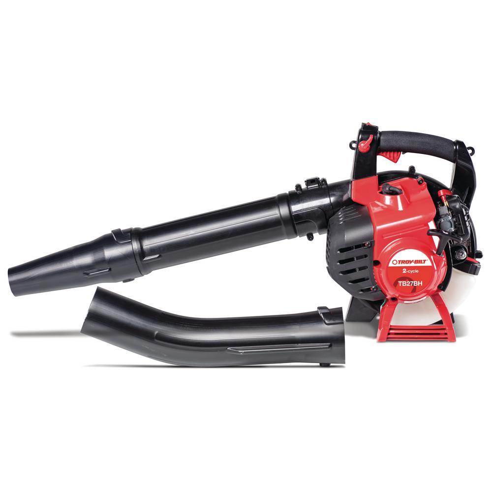 205 MPH 450 CFM 27 cc 2-Cycle Full-Crank Engine Gas Leaf Blower