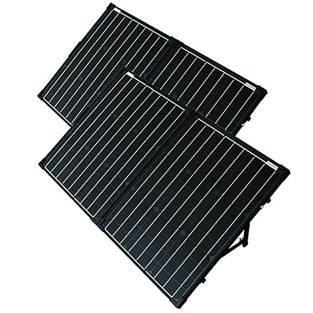 200-Watt Portable Briefcase OffGrid Solar Panel Expansion Kit