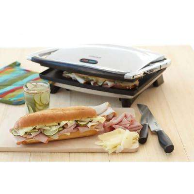 1400-Watt Non-stick Panini Press