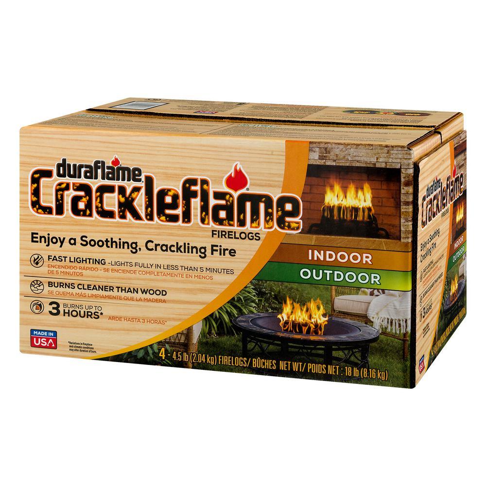 BIG K Instant Light Crackle Firelogs Defra Approved Smoke-Free ...
