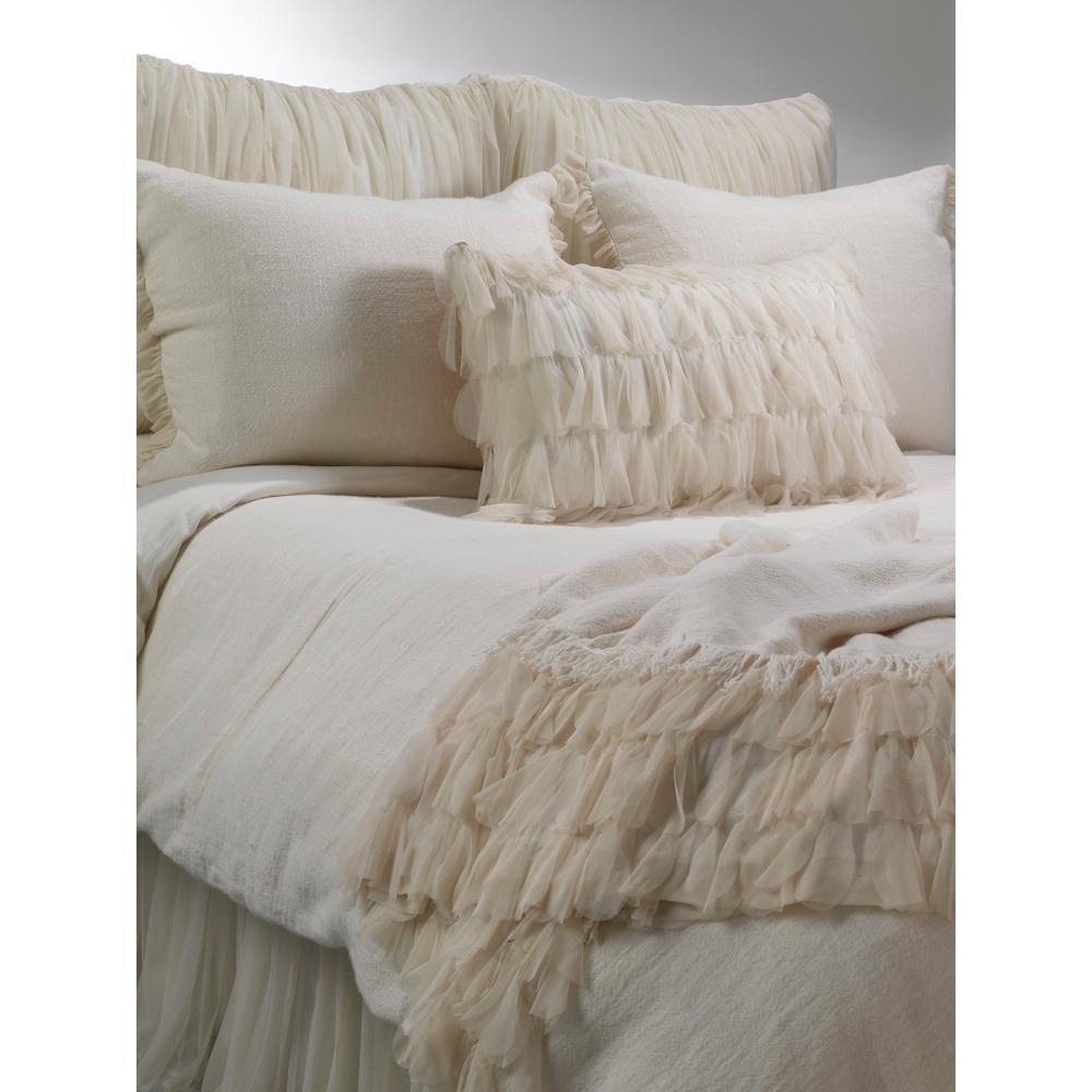 Whisper Ivory Queen Bed Skirt