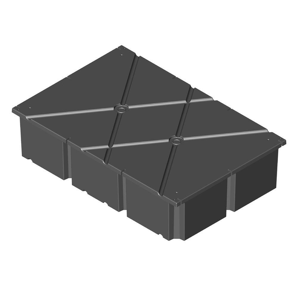 PermaFloat 48 in. x 72 in. x 24 in. Dock System Float Drum