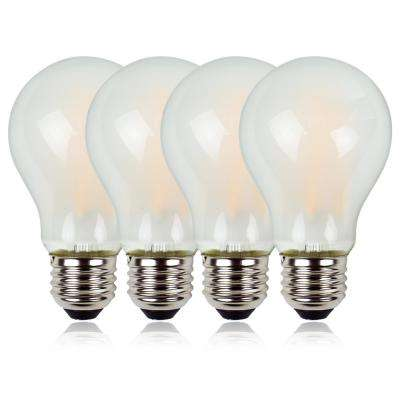 80-Watt Equivalent A19 LED Light Bulb With CEC and Title 20 Certification Warm White (4-Pack)