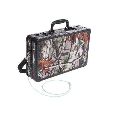 Locking Gun Case w/Security Tether w, Hard-Sided, Next Camo