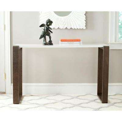Bartholomew Dark Brown Console Table