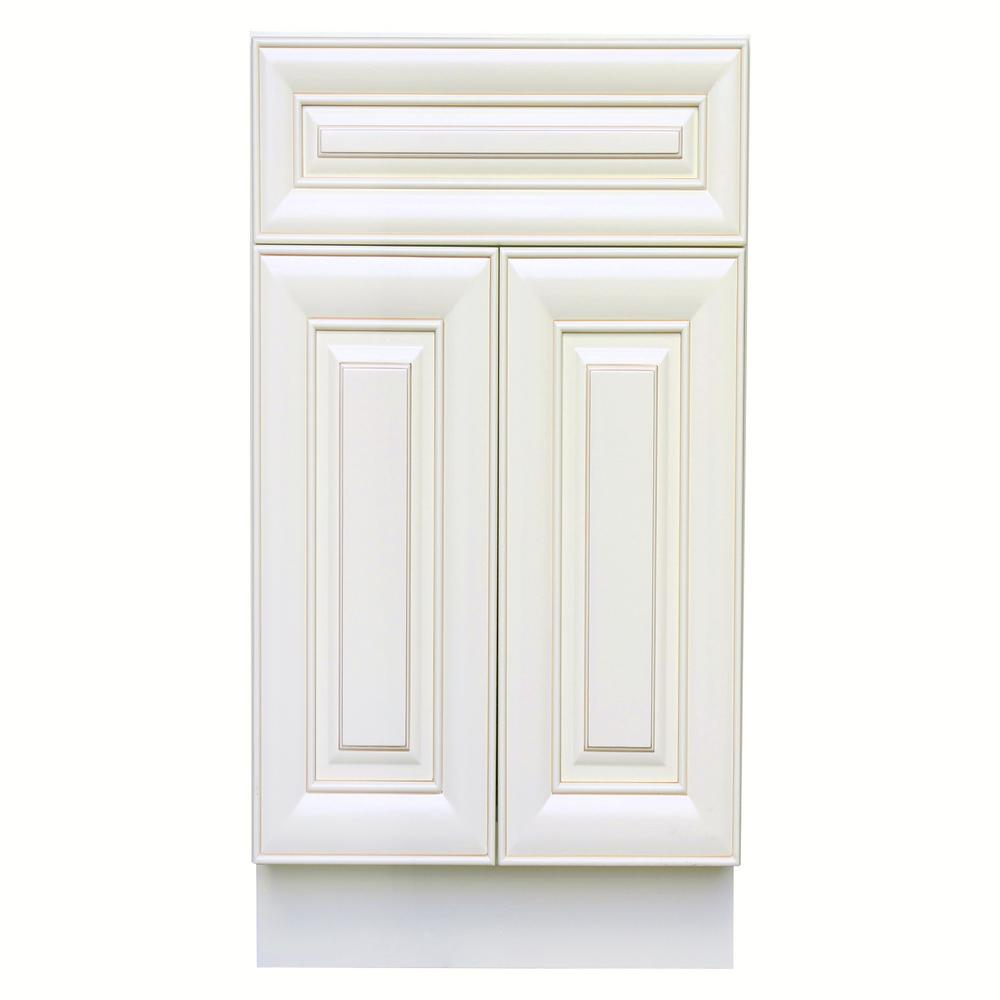 bf667135ca3 Plywell Holden Ready to Assemble 24x34.5x24 in. Base Cabinet with 2-Door