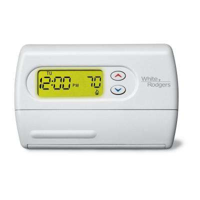 80 Series 5-1-1 Day Programmable Single Stage Digital Thermostat
