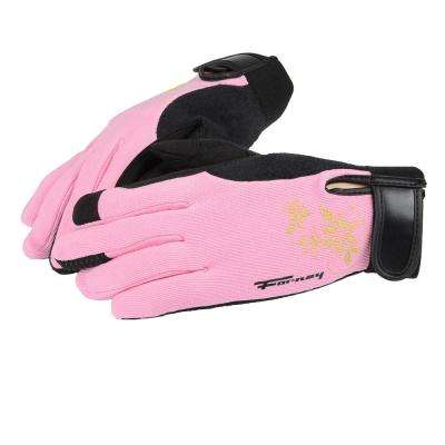 Women's S Utility Gloves in Pink