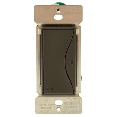 Aspire RF Accessory Switch for RF9501 Wireless Light Switches - Silver Granite