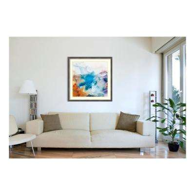 42.88 in. W x 42.88 in. H Swerve by PI Studio Printed Framed Wall Art