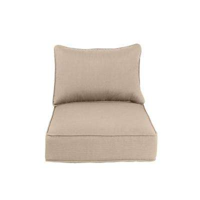 Greystone Replacement Outdoor Dining Chair Cushion in Sparrow