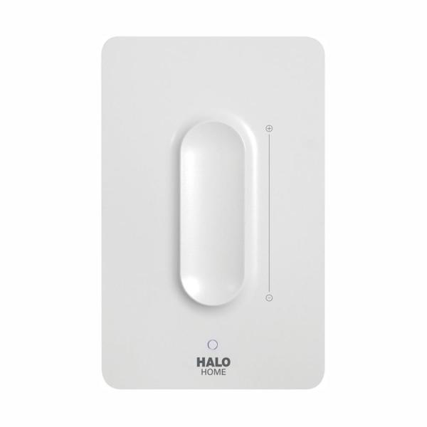 White Anyplace Smart Bluetooth Dimmer Switch by HALO Home