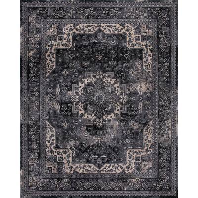Black Area Rugs The Home Depot