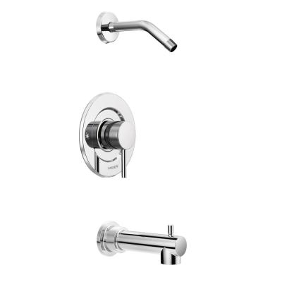 Align Moentrol Single-Handle Tub and Shower Faucet Trim Kit in Chrome (Valve and Shower Head Not Included)