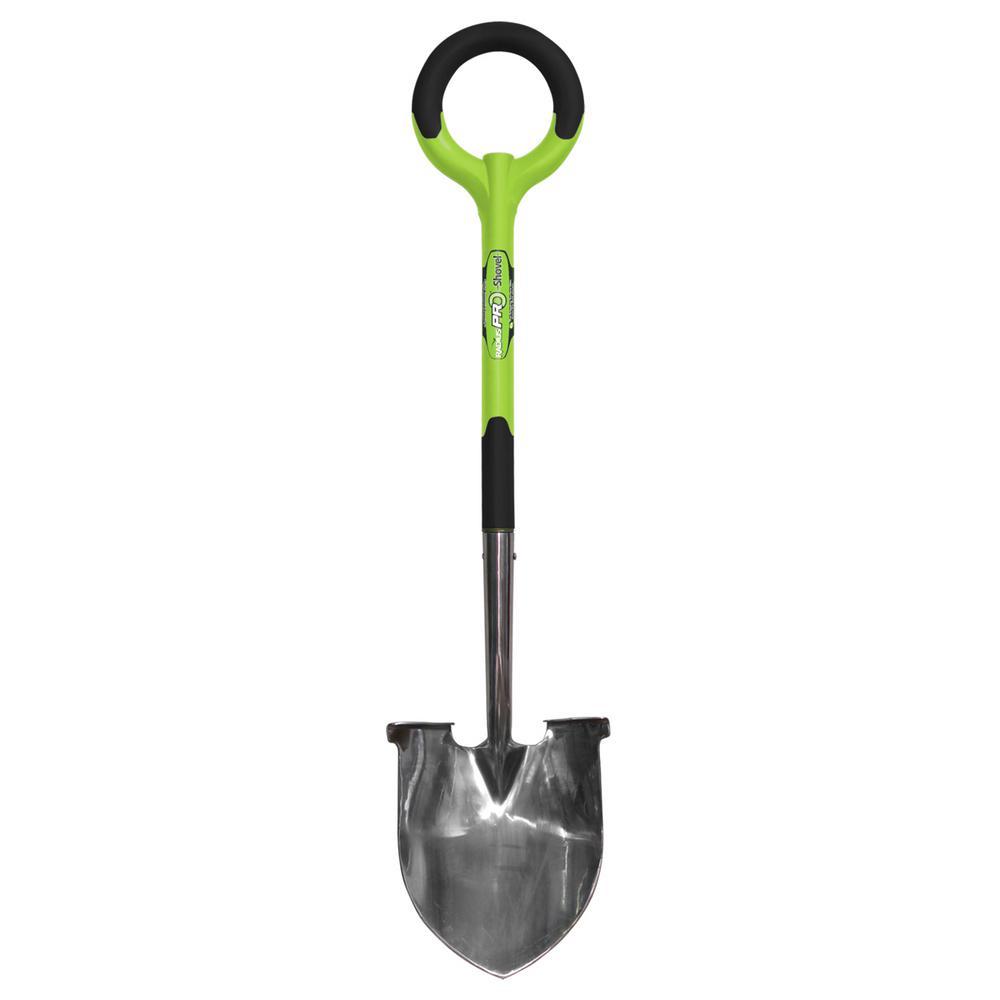 PRO Stainless Steel Shovel, Green