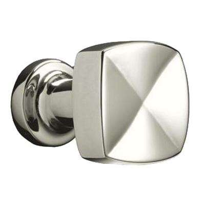 Margaux 15/16 in. Vibrant Polished Nickel Cabinet Knob