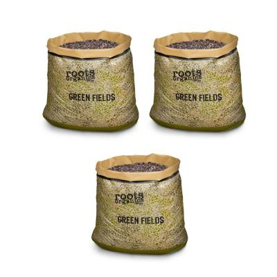 Roots Organics Hydroponics Green Fields Gardening Potting Soil (3-Pack)