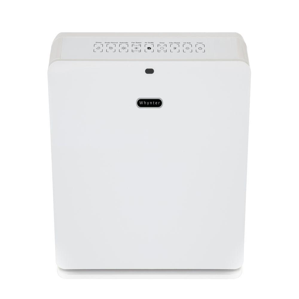Whynter EcoPure HEPA System Air Purifier in Pearl