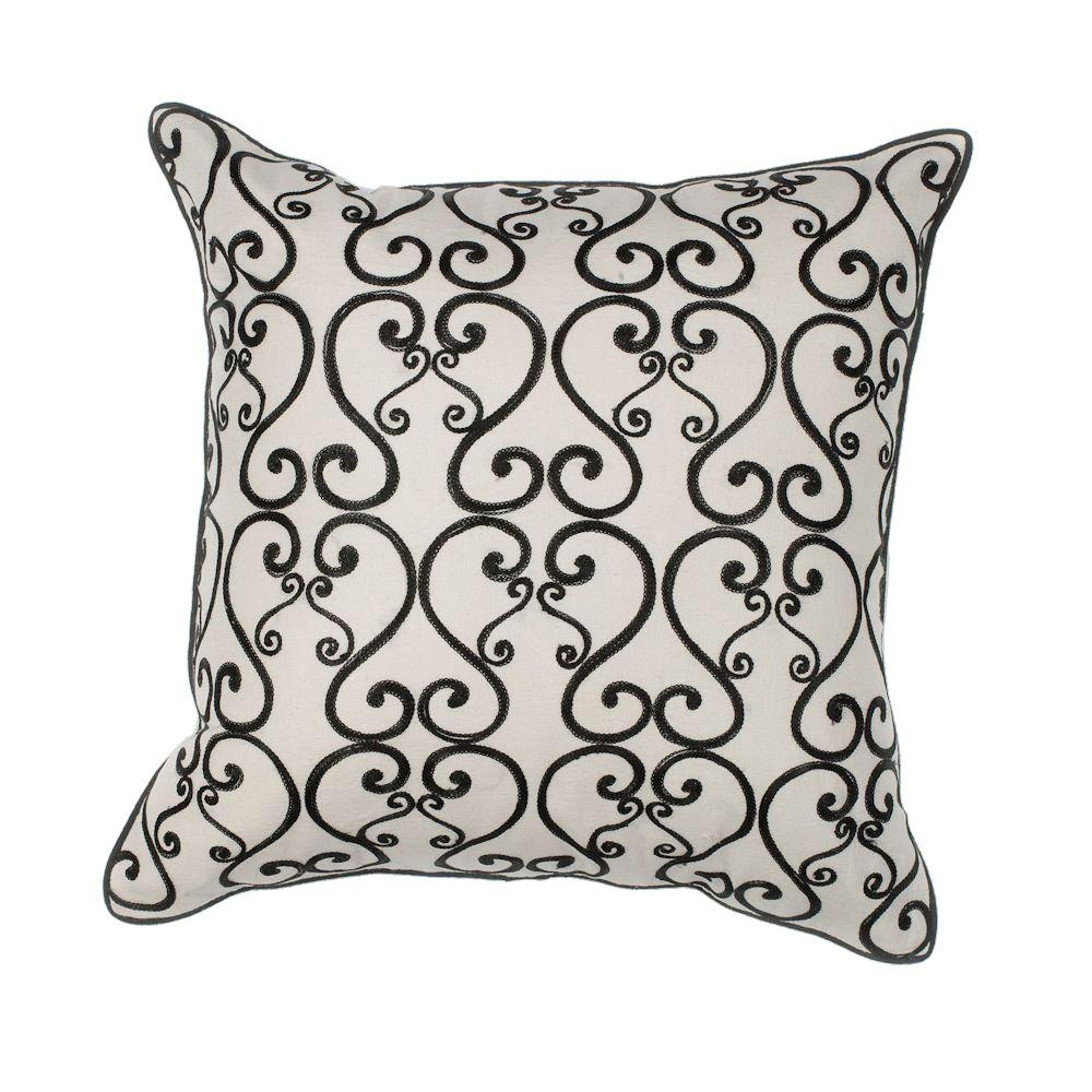 black red pillow embroidered angel throw cushion pillows quatrefoil gallery calla and gold blanket brown tan