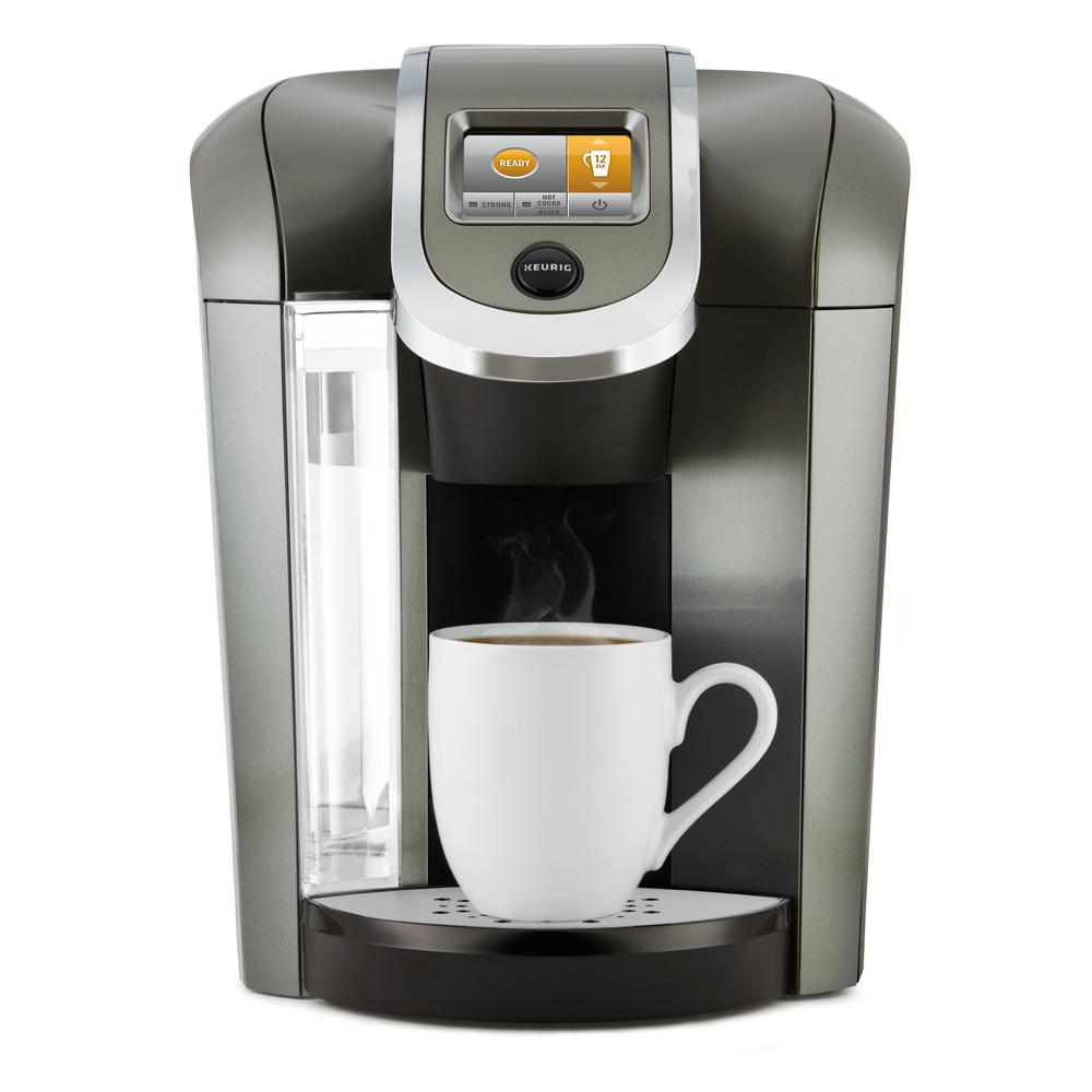 Coffee Maker For One : Keurig K525 Plus Single Serve Coffee Maker-119305 - The Home Depot