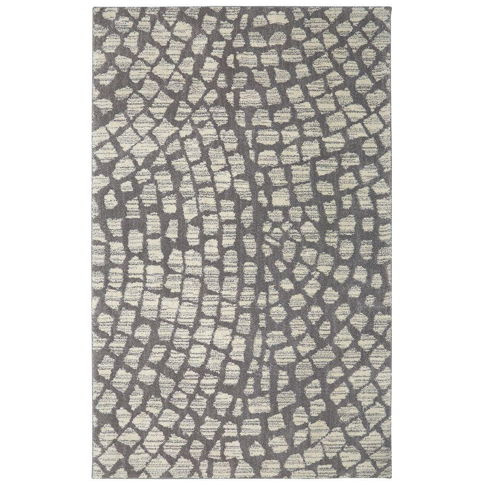 Cohassett Grey 10 ft. x 14 ft. Indoor/Outdoor Area Rug