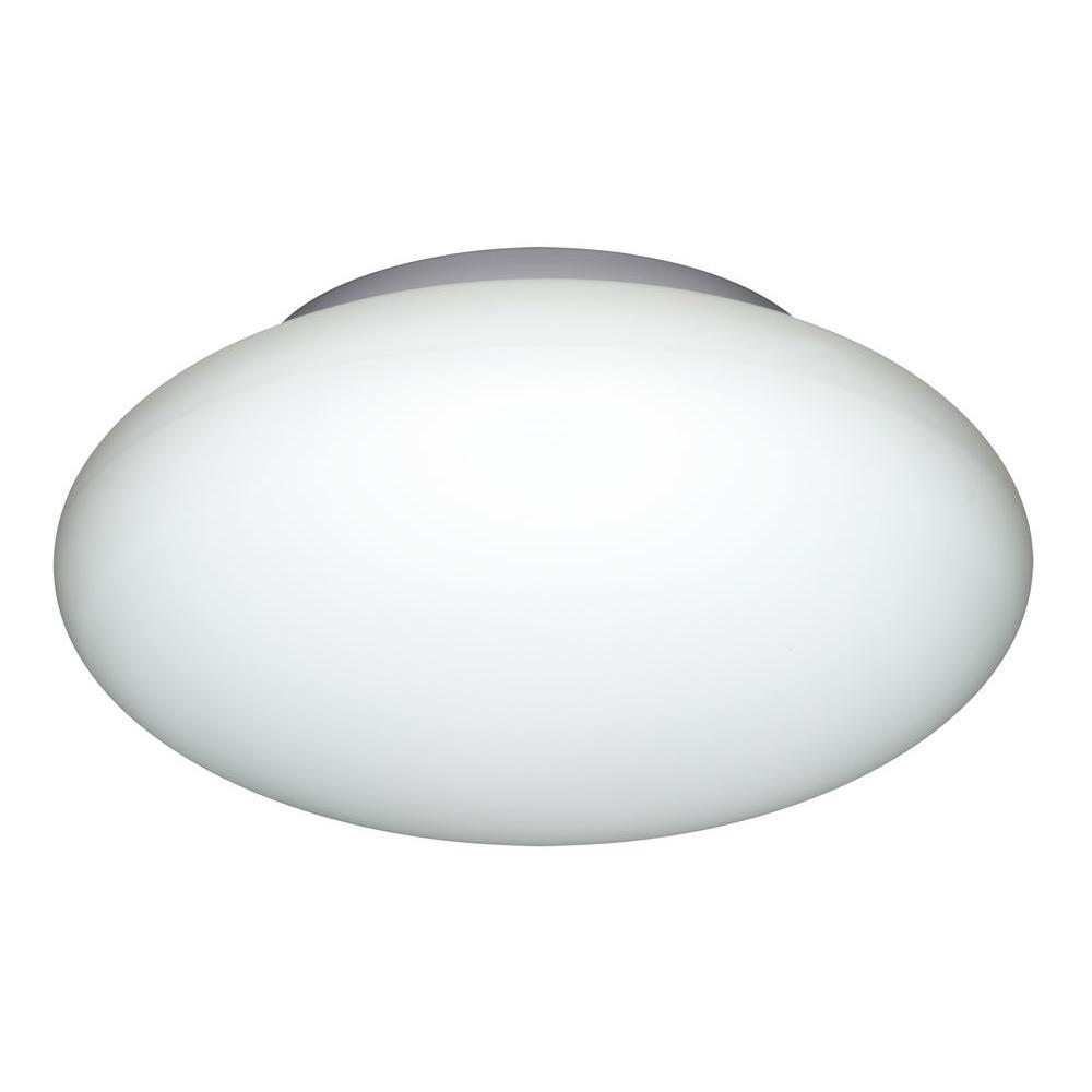 Illumine 2-Light Ceiling Mount Fixture Opal Glass-DISCONTINUED