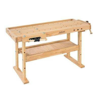 Diamond 5 ft. Solid Beech Top Workbench