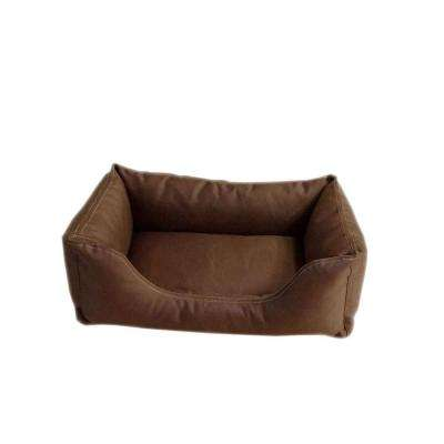 Brutus Tuff Kuddle Small Chocolate Lounge Bed