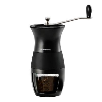 4.1 oz. Black Stainless Steel Burr Coffee Grinder