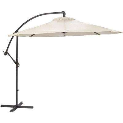 8.9 ft. Cantilever Patio Umbrella in Natural