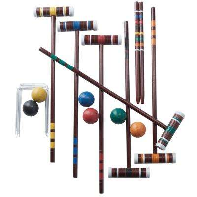 6 Player Family Croquet Set