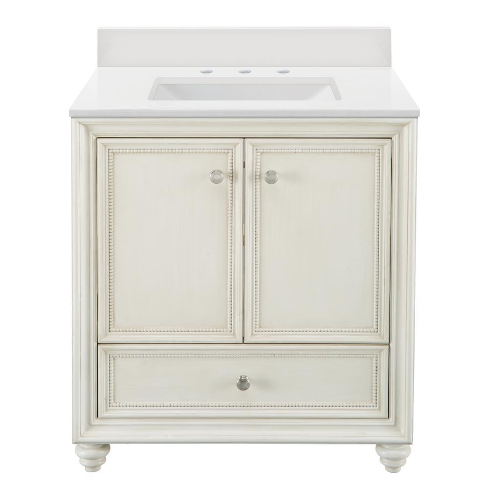 30 Inch Vanities Off White Bathroom Vanities Bath The Home