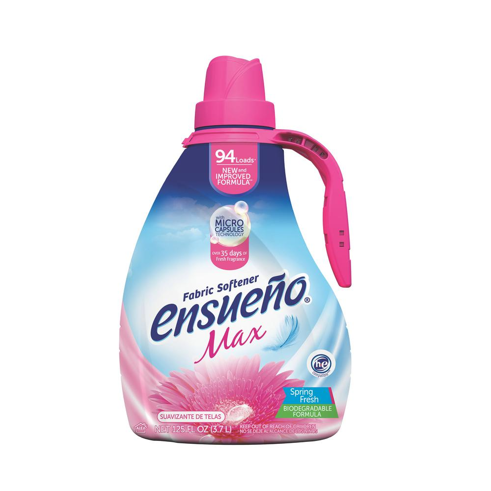 125 oz. Ensueo Max Fabric Softener Spring Fresh