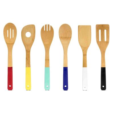 Bamboo Kitchen Utensil Set (Set of 6)