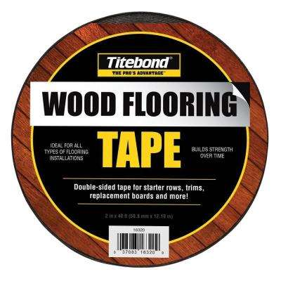 2 in. x 13.2 yds. Wood Flooring Tape (12-Pack)