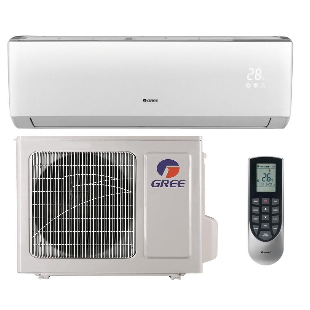 GREE Vireo 9,000 BTU 3/4 Ton Ductless Mini Split Air Conditioner and Heat Pump - 115-Volt/60Hz