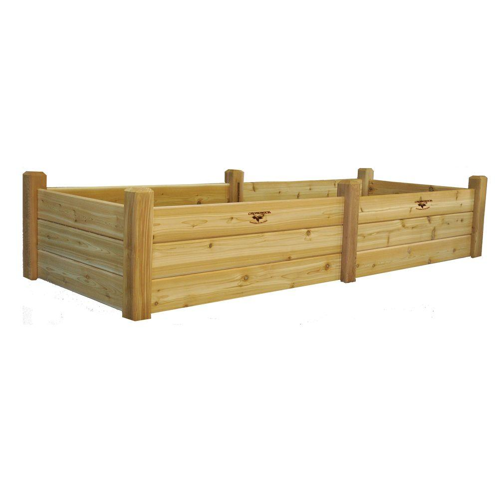 34 in. x 95 in. x 19 in. Raised Garden Bed