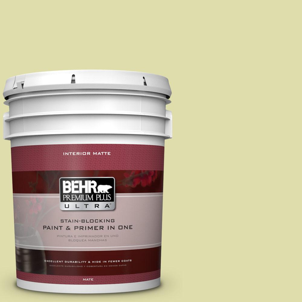 BEHR Premium Plus Ultra 5 gal. #P360-3 Tonic Matte Interior Paint